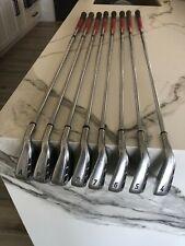 Callaway Razr Iron Set P-4, & A wedge (8 clubs), Rh Orig Reg Steel Shafts