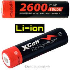 XCell Li-Ion Akku 18650 3,7V / 2600mAh PCM Zelle 4/3 FA
