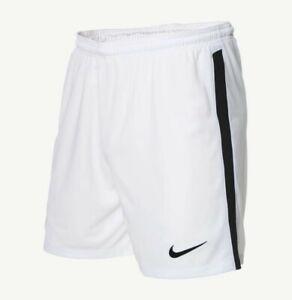 Nike Dri-fit Youth Medium (5-6) Academy Soccer Shorts White/Black