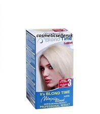 BlondTime New Hair Bleaching Kit Blond Supra Anti-Yellow Effect Professional