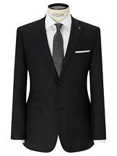 DANIEL HECHTER PARIS Mens suit jacket 42 Regular Charcoal Dark Grey Formal NEW