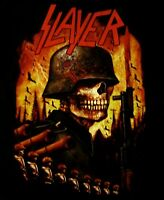 SLAYER cd lgo INVASION Official SHIRT MED New world painted blood NBP
