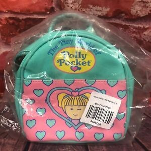 NEW Polly Pocket Hot Topic Mini Backpack Purse Bag Mattel 2018 Pink Green