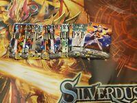 Cardfight vanguard Silverdust Blaze Oracle Think Tank Common Lot