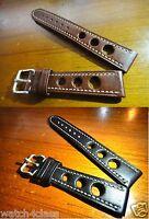 Genuine leather band strap bracelet fits CHOPARD Mille Miglia GL XL Chronograph