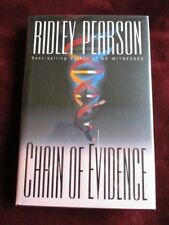 Ridley Pearson - CHAIN OF EVIDENCE - 1st - Signed