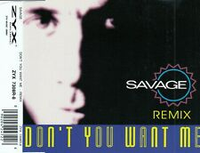 SAVAGE : DON'T YOU WANT ME - REMIX / CD - TOP-ZUSTAND