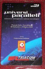 SMAU ESPOSIZIONE ...  FIERA MILANO 1999 / SCHEDA TELEFONICA TELECOM NUOVA