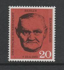 Germany Berlin 1961 Death of Bockler SG B192 MNH