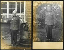 More details for ww1 photo postcards british veteran soldier possibly missing hand unusual lot