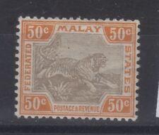Malaiischer Staatenbund Mi. Nr.  34  mit Gummi + Falz