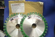 SCOGNAMILLO CURED CONCRETE 300MM X 10MM WET SAW CUTTING DIAMOND BLADE 50MM ARBOR