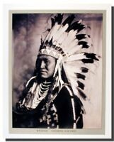Washakie Historical Chief Of Shoshone Native American Wall Decor Art Print 16x20