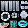 Resin Casting Molds,83Pcs Mold Tools Kit for Crafts Silicone Epoxy Mold for DIY