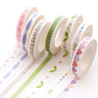 Paper Masking Tape Slim   Tape Dividing Boarder Line Decorative Tape   DD