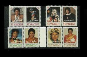 Wholesale Topical. St. Vincent 894-97 Michael Jackson. Cat.167.50 (25x6.70)