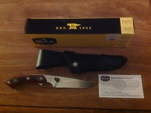 BUCK Knife 539 Open Season Small Game Knife w/ Rosewood Dymondwood Handle - NIB