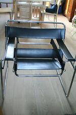 2 Fauteuils wassily d'après Marcel Breuer B3 (KNOLL) Bauhaus