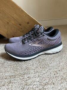 Women's Brooks Ghost 13 Trainers/Shoes Purple UK Sz. 8