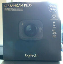 Logitech StreamCam Plus Webcam *WITH TRIPOD* Graphite FullHD 1080P Fast Shipping
