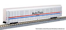 KATO (N-Scale) #106-5508 Autorack Amtrak Auto Train * Phase III 4-Car Set No.#2