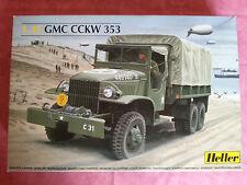 Maquette Neuve Heller 1/35 GMC CCKW 353 ouvert seulement pour les photos