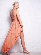 NWT $249 The Jetset Diaries TJD Carla Maxi Dress in Burnt Orange S