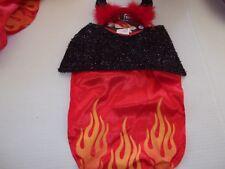 SWEET LITTLE DEVIL dog costume Petco halloween XS/S L/XL M/L new cape horns