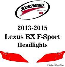 3M Scotchgard Paint Protection Film Clear Bra 2013 2014 2015 Lexus RX F-Sport