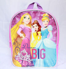 Disney Princess Little Girls Kids Small Backpack Toddler Preschool Pink Bookbag