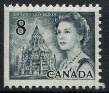 Canada 1967-73 SG#610, 8c QEII Definitive MNH P12.5x12 Imperf Left #D6978
