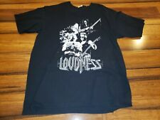 Vintage LOUDNESS tour Concert T-shirt Metal Cannibal Corpse Iron Maiden Obituary