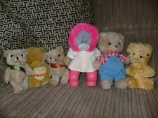 """TEDDY BEAR LOVERS HERE ARE SIX DIFFERENT ONE IS A """"ME TO YOU """" ONE IS A C.VALLEY"""