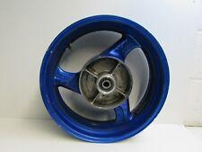 Honda CBR1100 Rear wheel, 17 x 5.5, Blue, Blackbird, XXX, 1999 J16 A