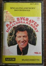 MAX BYGRAVES   SINGALONGMEMORY         CASSETTE TAPE ACT 2494           (40)