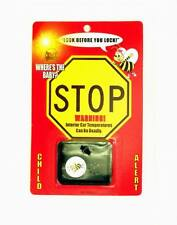 Keep Babies Safe From Hot Cars! New Bee-Alert Safety Device Audible Car Alarm