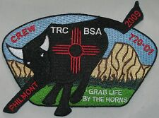 Theodore Roosevelt Council (NY) SA-? 2009 Philmont Crew 720-D1 CSP  BSA