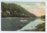 Wildwood Susquehanna River Canoeing SAYRE PA Vintage Pennsylvania Postcard