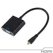 Adaptador Micro HDMI macho a Conector VGA hembra - Soporta alta definición