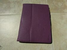 ProCase ASUS MeMO PAD 10 (me102a) Tablet Stand Book Cover Case PURPLE w/Stylus