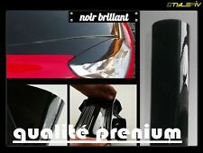 Film Vinyle Covering noir brillant 152 x 100 cm Thermoformable Adhesif