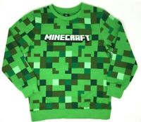BNWT Boys Kids Minecraft Creeper Jumper Jersey Sweatshirt  Top Ages 5 6 7 8 9 10