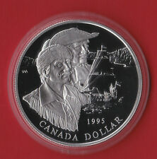 1995 Proof Canada Silver Dollar Coin Capsule Only!300th Hudson Bay Anniversary