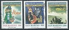 1988 SAN MARINO USATO CINEMA FEDERICO FELLINI - VA25