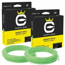 CORTLAND PRECISION CLEAR GHOST SINK TIP FLY LINE 5' & 15' Tips