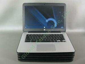 "5 HP Chromebook 14 G3 14"" Laptop Computer 2.1GHz 4GB RAM 16GB WIFI HDMI Webcam"