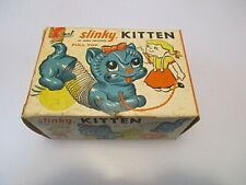 Original Slinky Kitten Pull Toy No 480, In Box James Industries