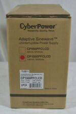 CyberPower CP1000PFCLCD Adaptive Sinewave UPS System 1000VA/600W