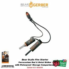 Gerber Bear Grylls Fire Starter, Emergency Whistle, BG Survival #31-000699