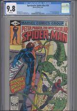 Spectacular Spider-Man #39 CGC 9.8 1980 Marvel Comics ASM becomes Spider-Lizard